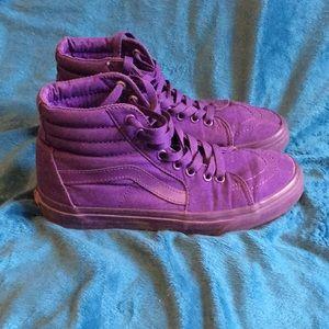 Vans Sk-8 Hi high-top sneaker royal purple